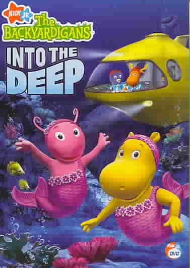 BACKYARDIGANS:INTO THE DEEP BY BACKYARDIGANS (DVD)